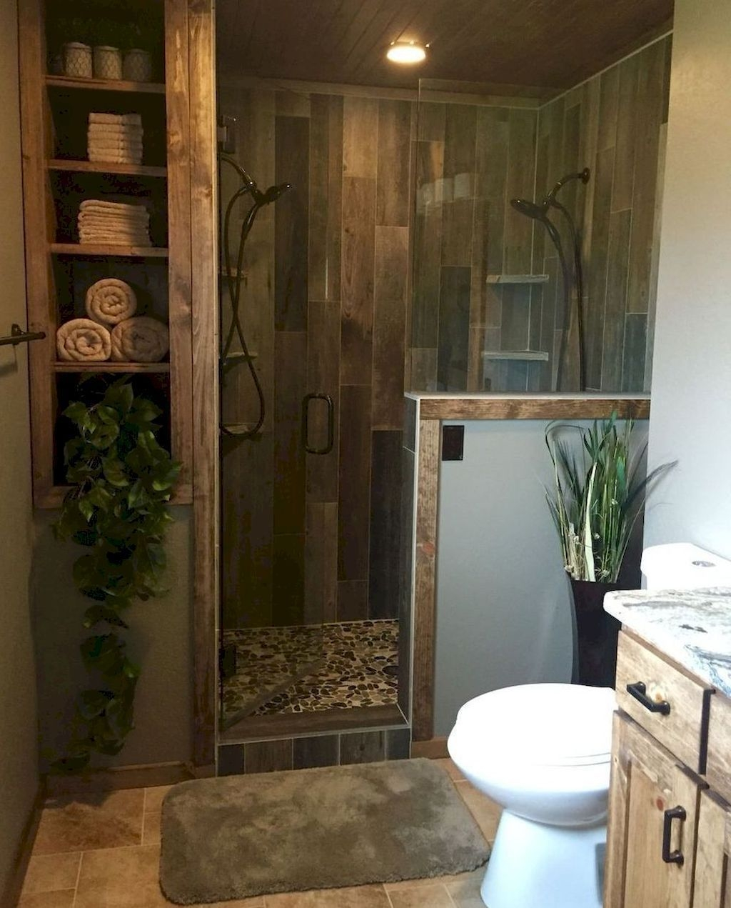 Adorable Master Bathroom Shower Remodel Ideas 02