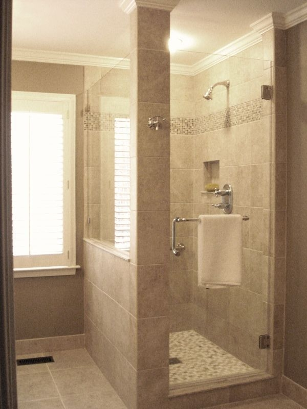 Adorable Master Bathroom Shower Remodel Ideas 11