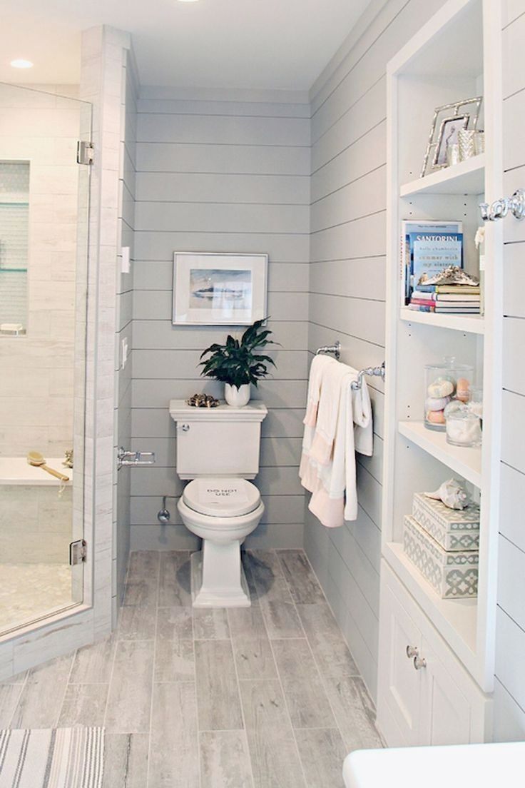 Adorable Master Bathroom Shower Remodel Ideas 19
