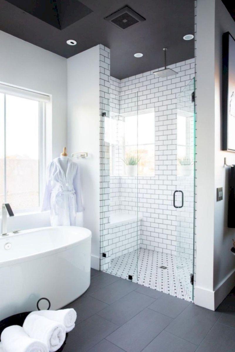 Adorable Master Bathroom Shower Remodel Ideas 21