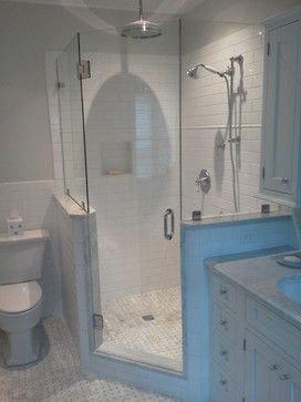 Adorable Master Bathroom Shower Remodel Ideas 46