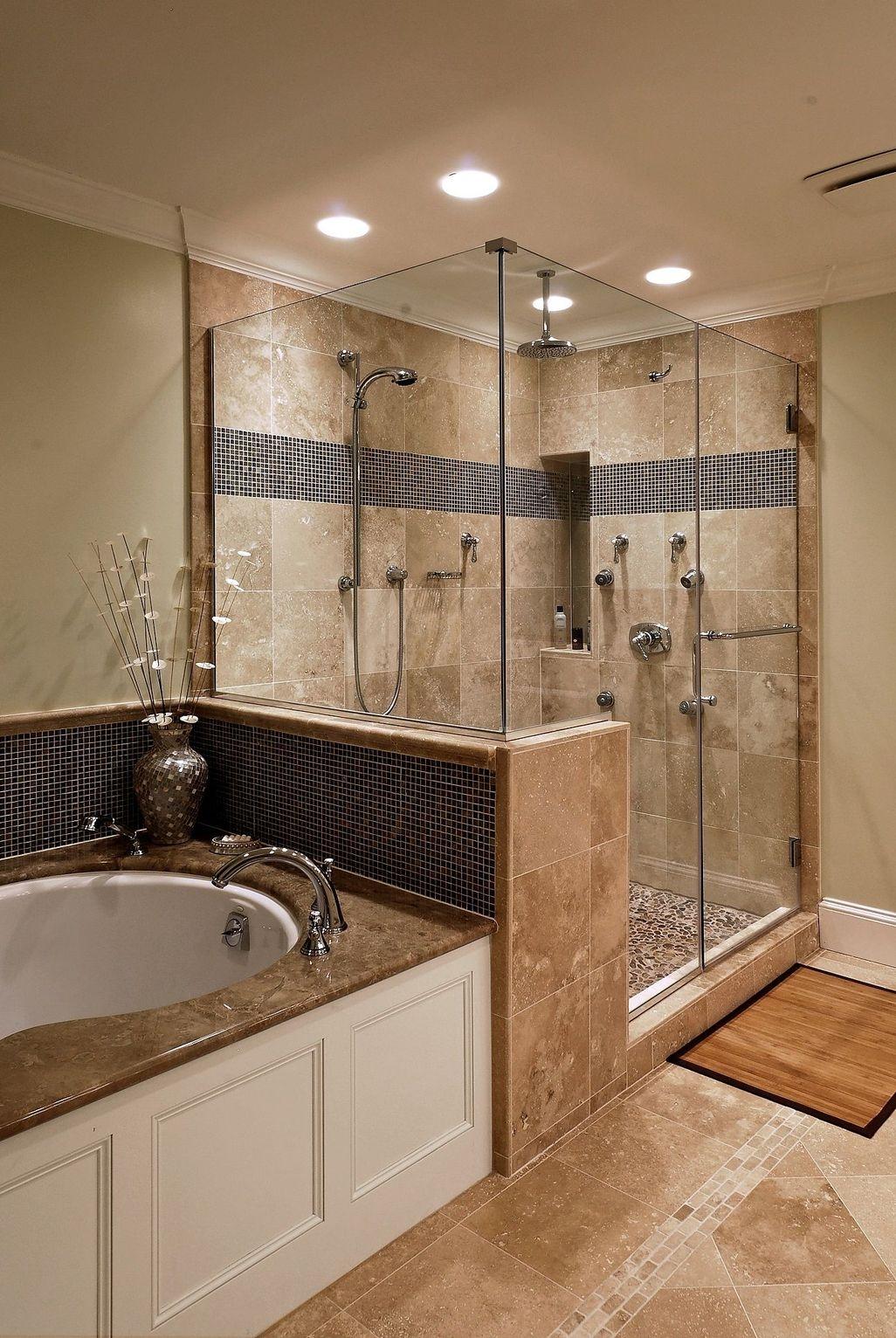 Beautiful Bathroom Shower Remodel Ideas 24