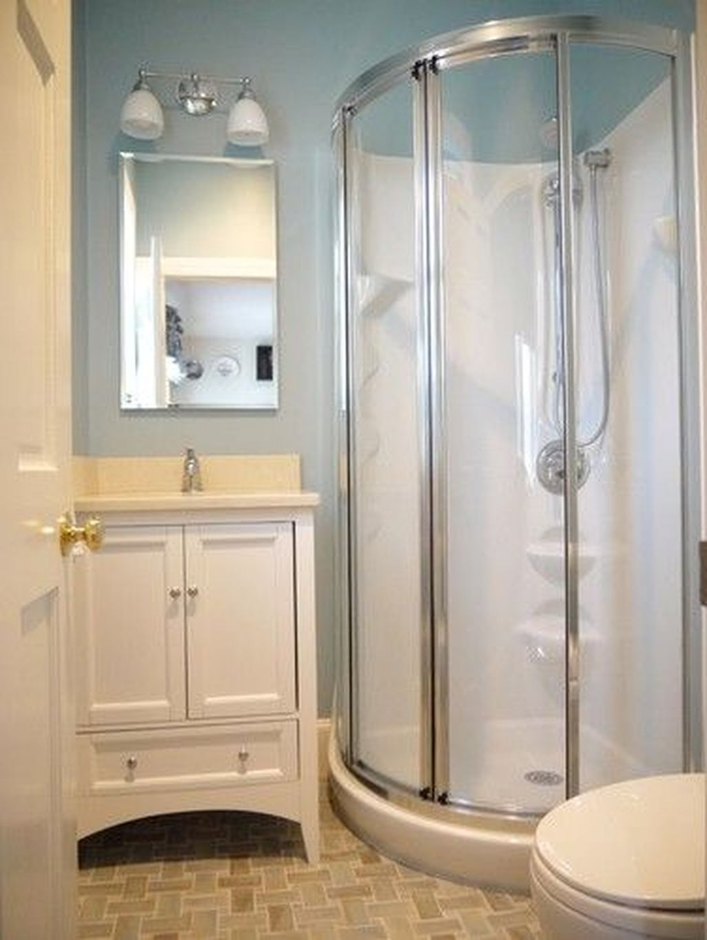 Beautiful Bathroom Shower Remodel Ideas 26