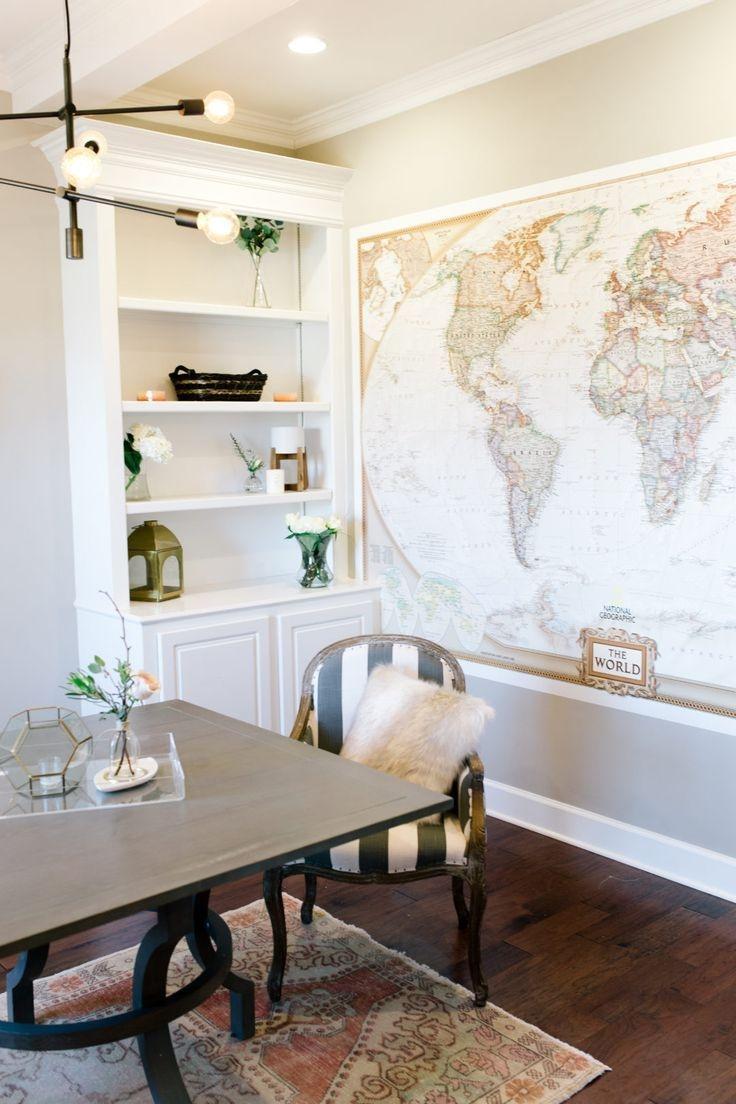 Cozy And Elegant Office Décor Ideas 12