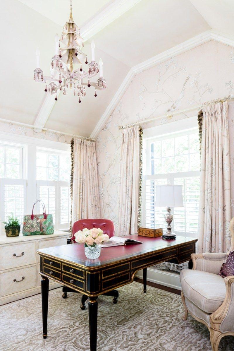 Cozy And Elegant Office Décor Ideas 17