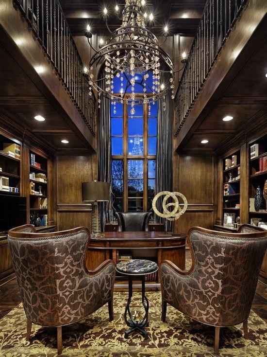 Cozy And Elegant Office Décor Ideas 34