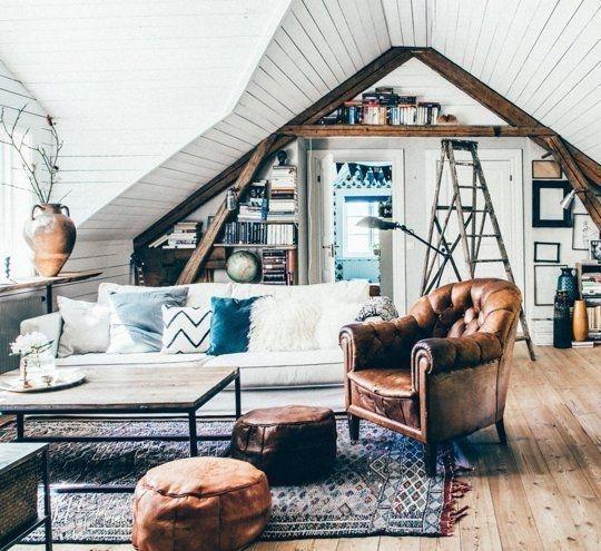 Cozy Bohemian Living Room Design Ideas 06