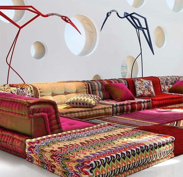 Cozy Bohemian Living Room Design Ideas 08