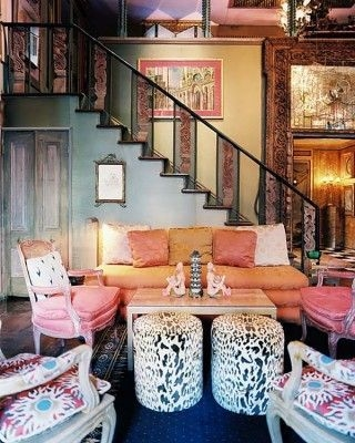 Cozy Bohemian Living Room Design Ideas 19
