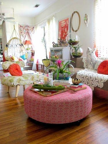 Cozy Bohemian Living Room Design Ideas 22