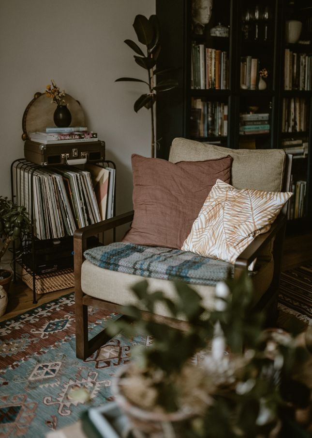 Cozy Bohemian Living Room Design Ideas 27