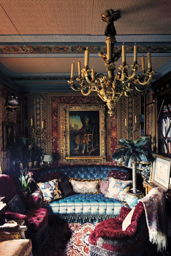 Cozy Bohemian Living Room Design Ideas 44