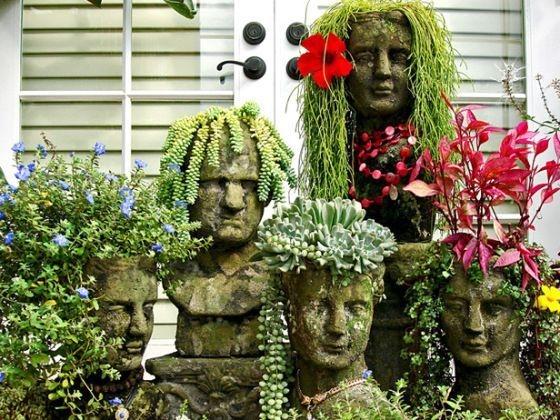 Cozy Decorative Garden Planters Design Ideas 36