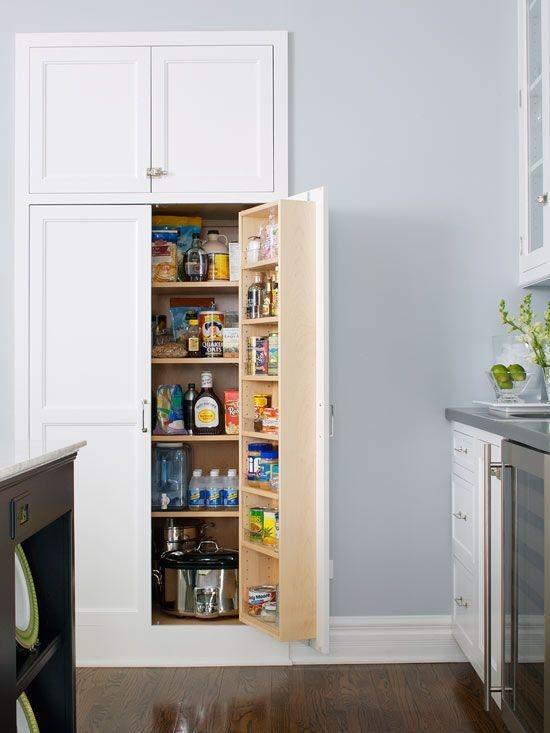 Cozy Kitchen Pantry Designs Ideas 04