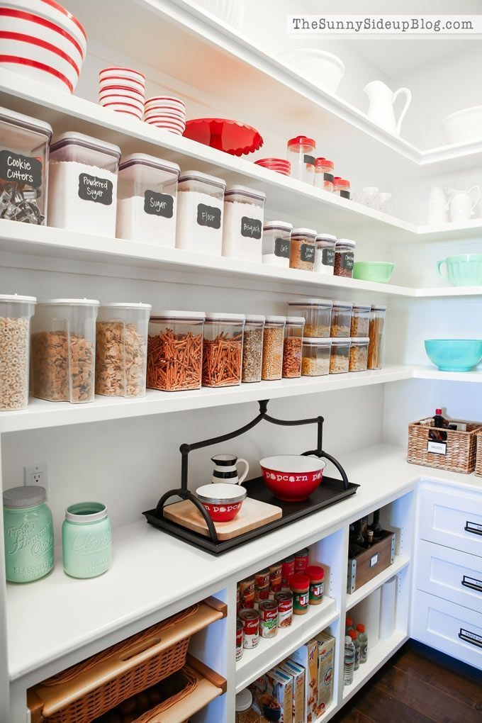Cozy Kitchen Pantry Designs Ideas 11