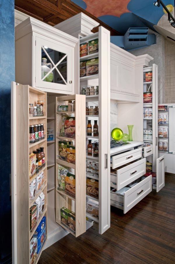 Cozy Kitchen Pantry Designs Ideas 12