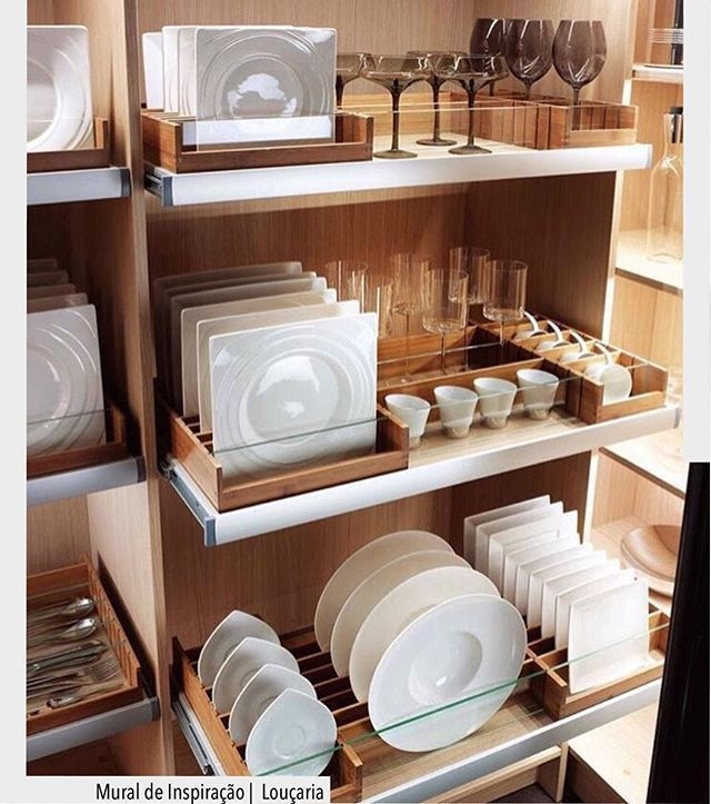 Cozy Kitchen Pantry Designs Ideas 14