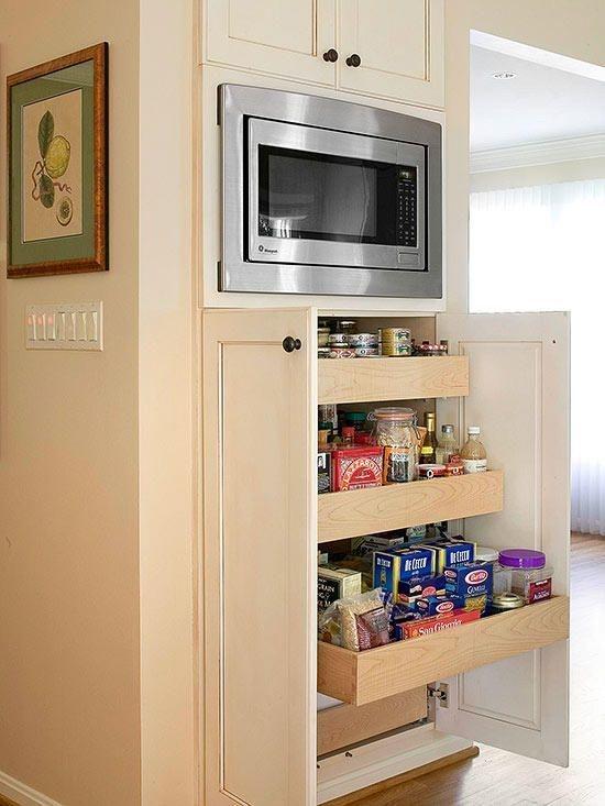 Cozy Kitchen Pantry Designs Ideas 28