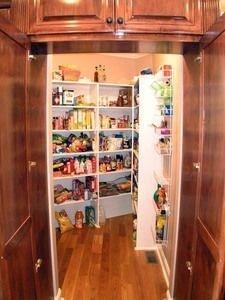 Cozy Kitchen Pantry Designs Ideas 31
