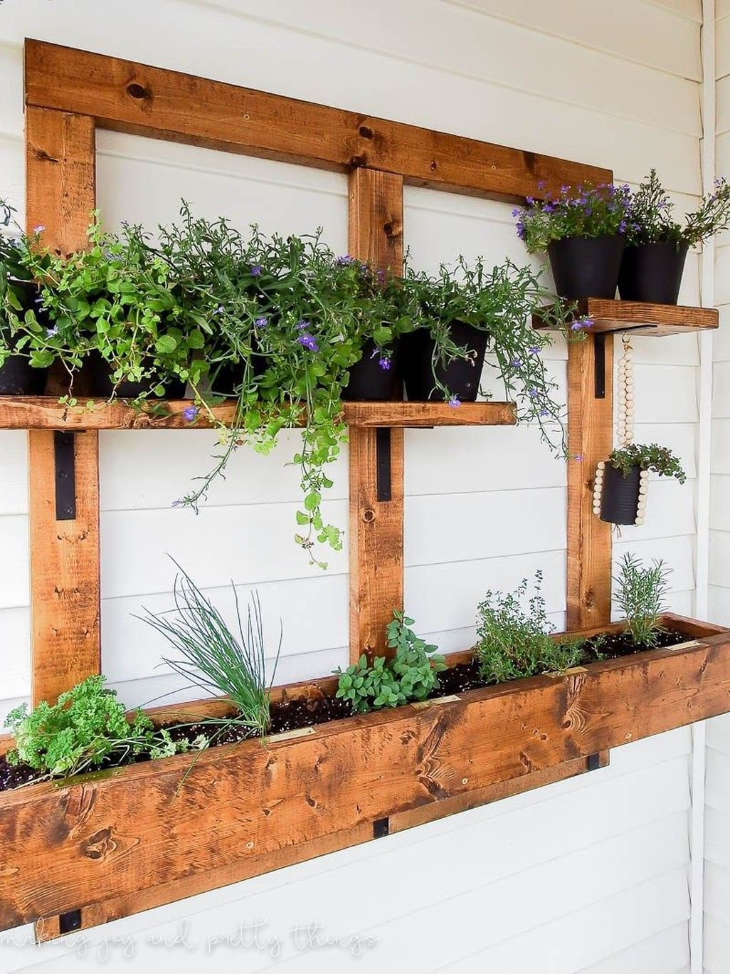 Creative DIY Patio Gardens Ideas On A Budget 02