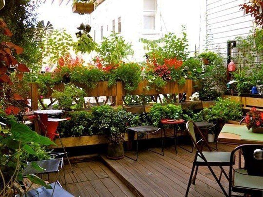 Creative DIY Patio Gardens Ideas On A Budget 17
