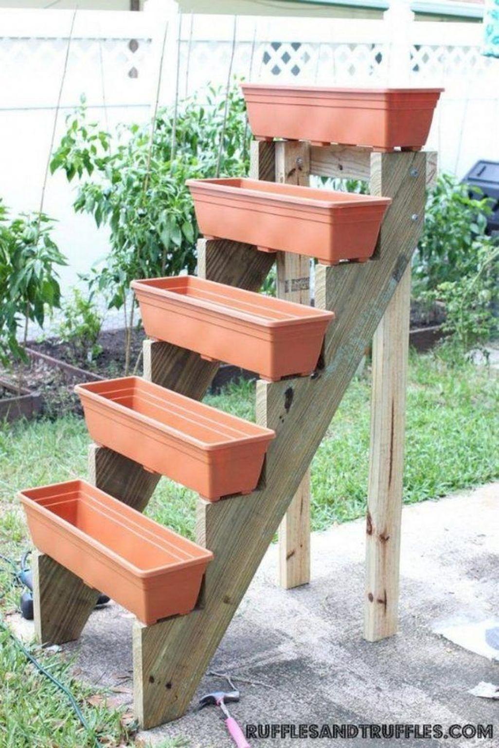 Creative DIY Patio Gardens Ideas On A Budget 24