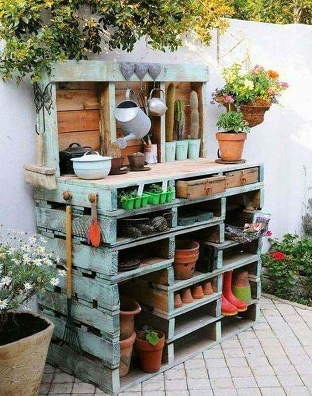 Creative DIY Patio Gardens Ideas On A Budget 31
