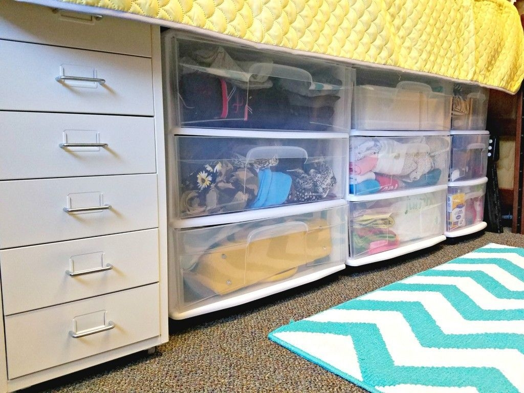 Efficient Dorm Room Organization Decor Ideas 08