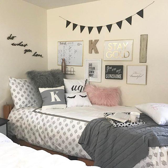 Efficient Dorm Room Organization Decor Ideas 19