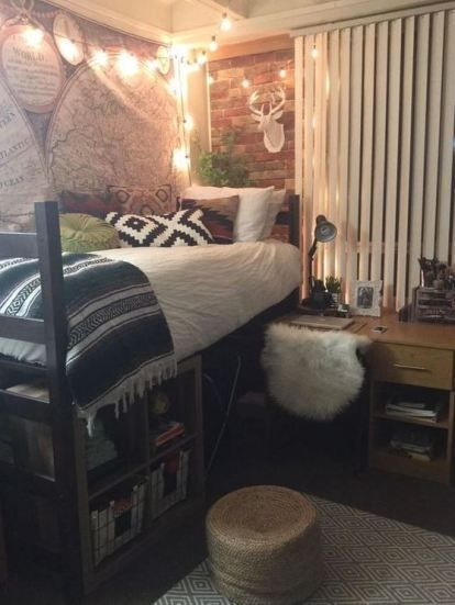 Efficient Dorm Room Organization Decor Ideas 20