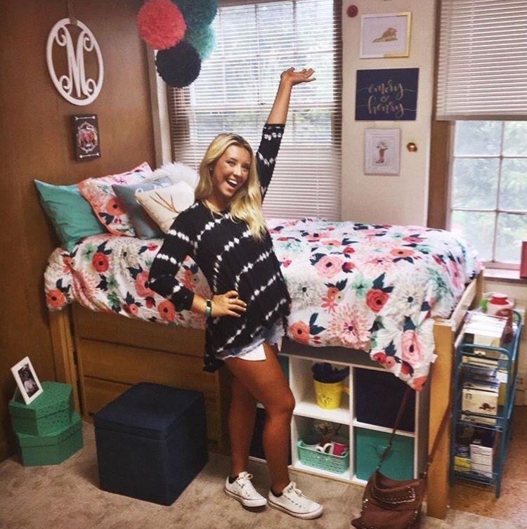 Efficient Dorm Room Organization Decor Ideas 41