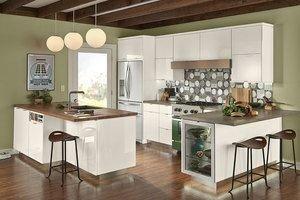 Elegant And Modern Kitchen Cabinet Design Ideas 10