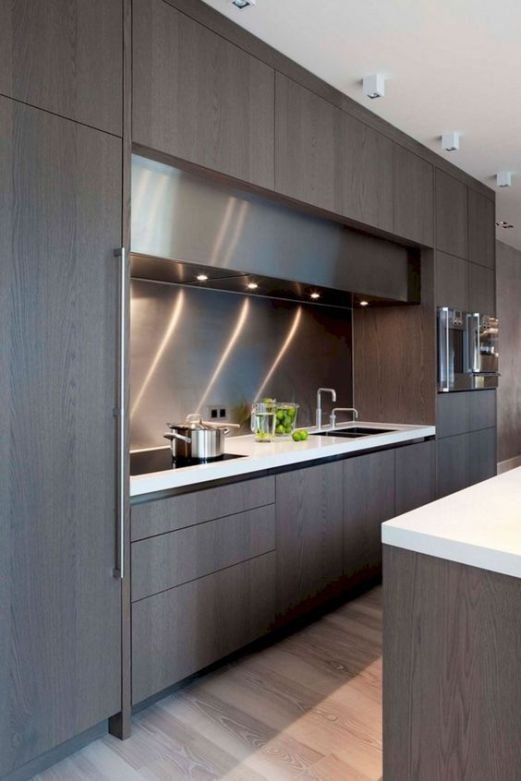 Elegant And Modern Kitchen Cabinet Design Ideas 18