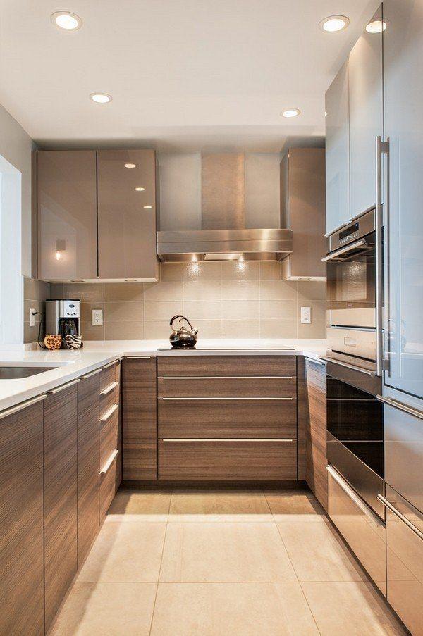 Elegant And Modern Kitchen Cabinet Design Ideas 21