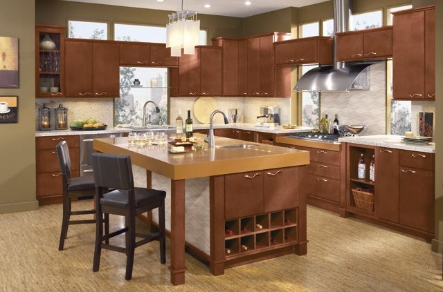 Elegant And Modern Kitchen Cabinet Design Ideas 31