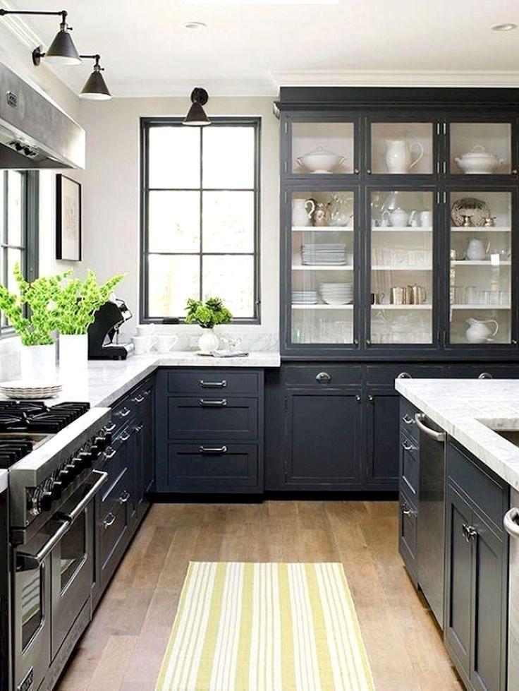 Elegant And Modern Kitchen Cabinet Design Ideas 35