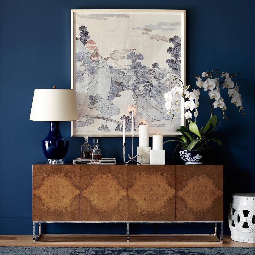 Elegant Blue Office Decor Ideas 28