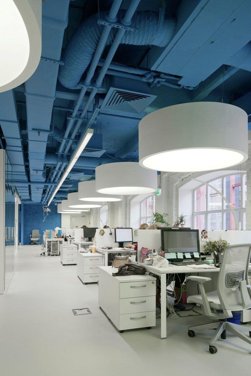 Elegant Blue Office Decor Ideas 34