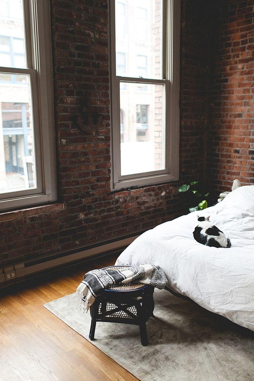 Elegant Exposed Brick Apartment Décor Ideas 03