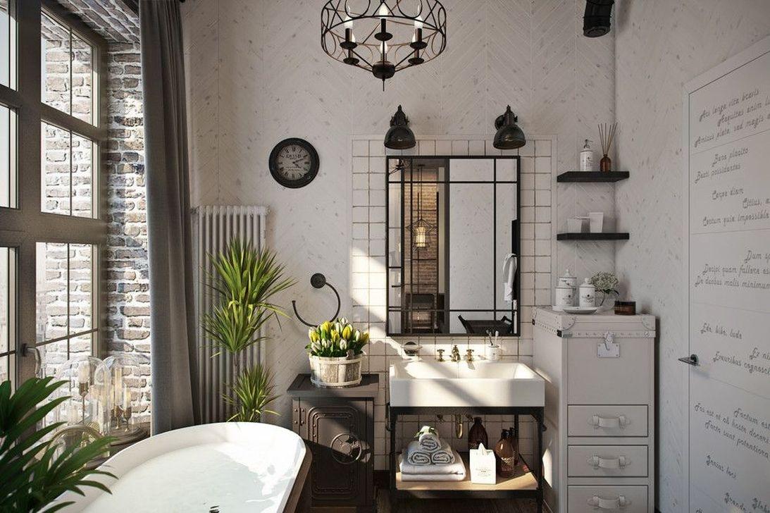 Elegant Exposed Brick Apartment Décor Ideas 07