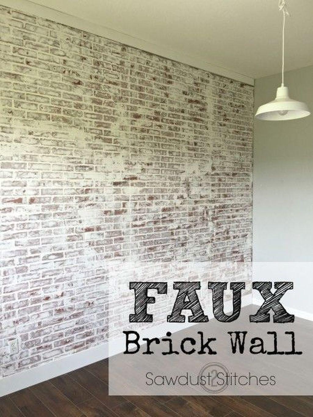 Elegant Exposed Brick Apartment Décor Ideas 45