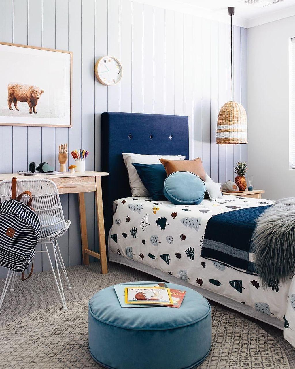 Gorgeous Bedroom Design Decor Ideas For Kids 34