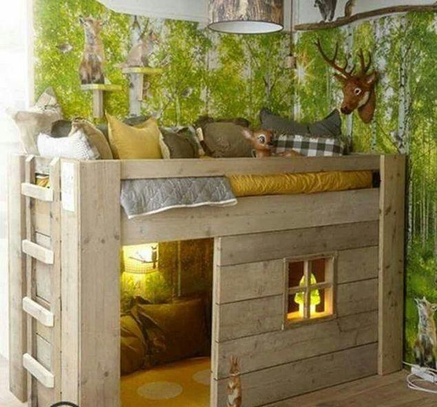Gorgeous Bedroom Design Decor Ideas For Kids 46