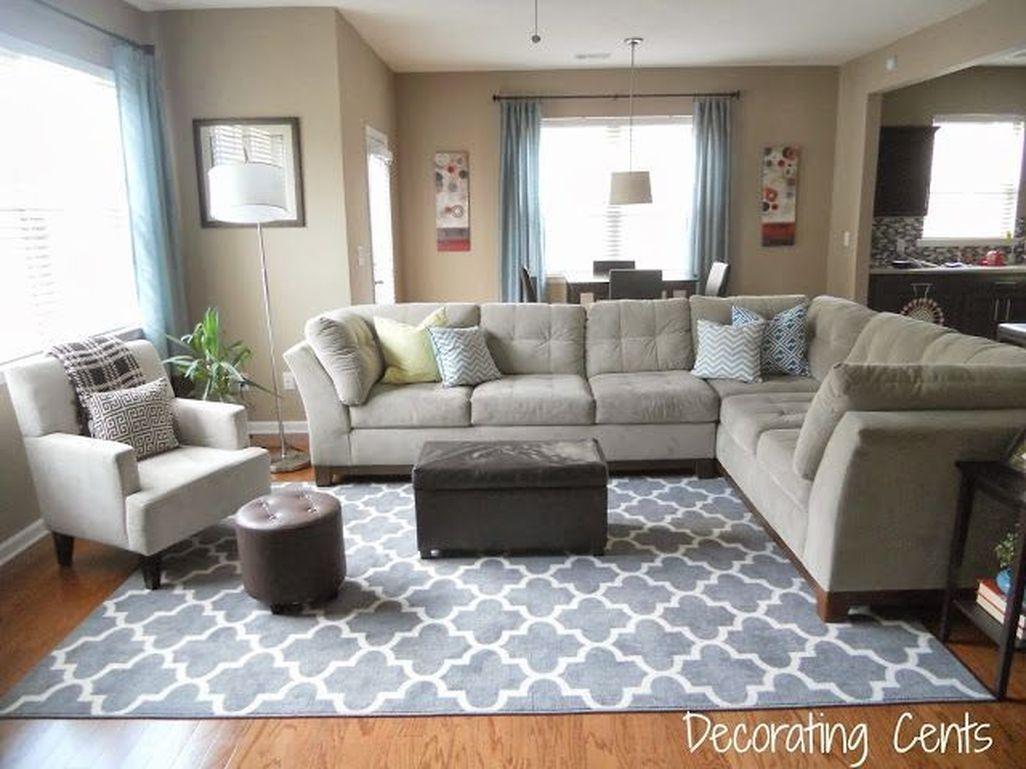Inspiring Corner Fireplace Ideas In The Living Room 12