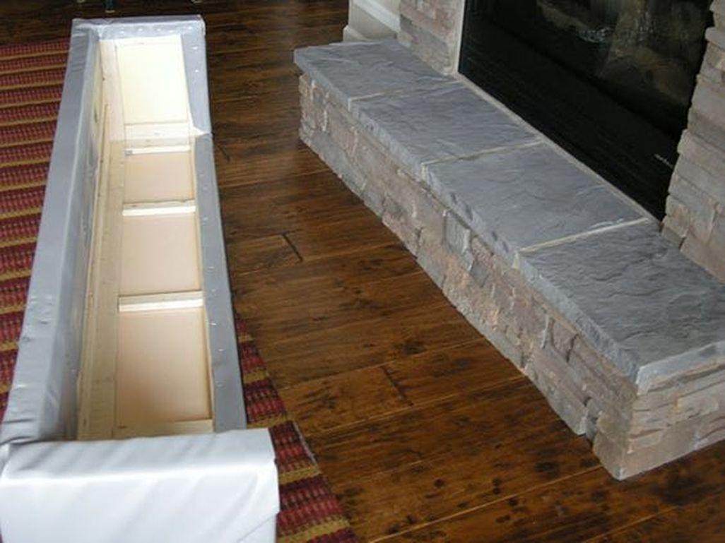 Inspiring Corner Fireplace Ideas In The Living Room 14