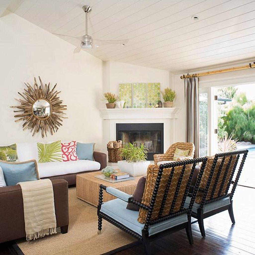 Inspiring Corner Fireplace Ideas In The Living Room 16