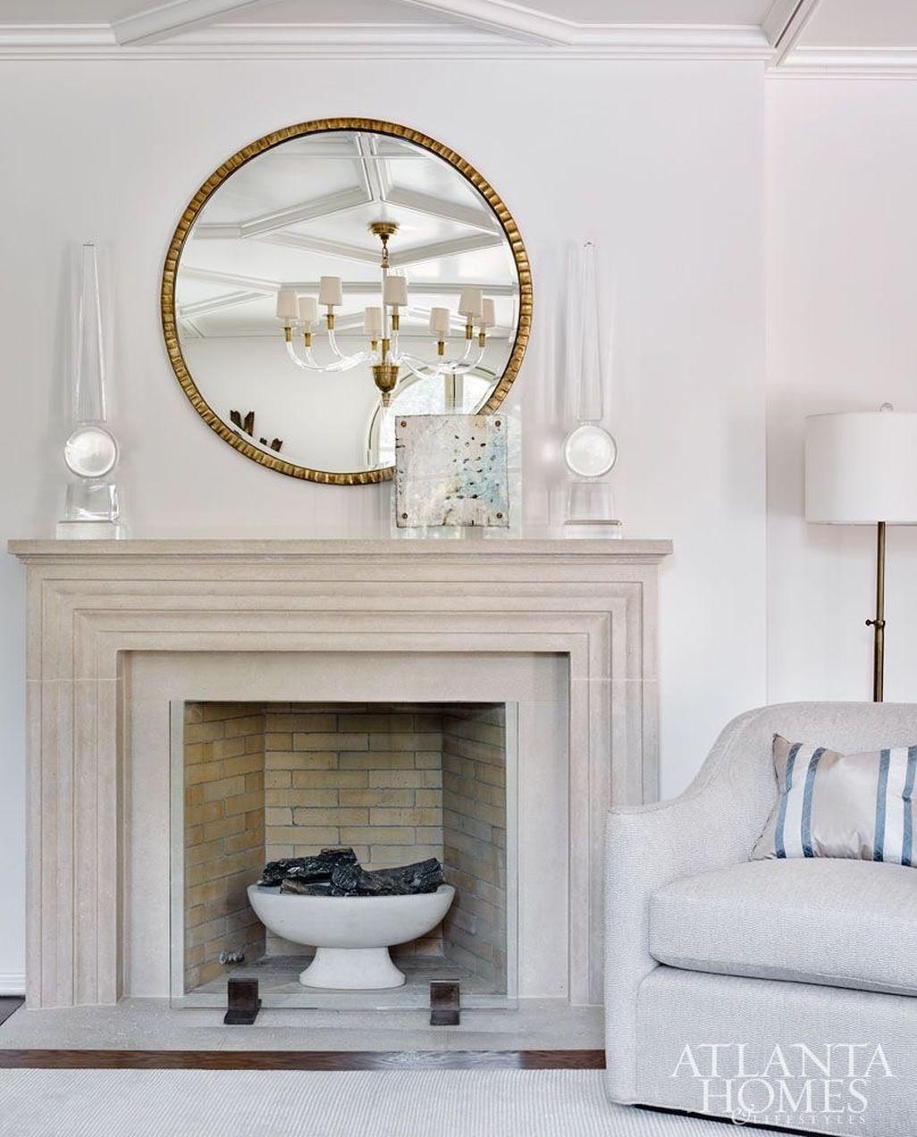 Inspiring Corner Fireplace Ideas In The Living Room 35