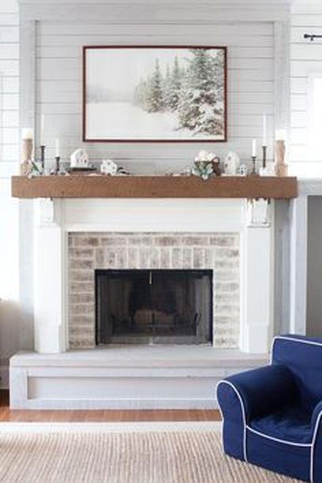 Inspiring Corner Fireplace Ideas In The Living Room 37