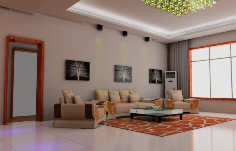 Modern Curtain Designs For Living Room 07