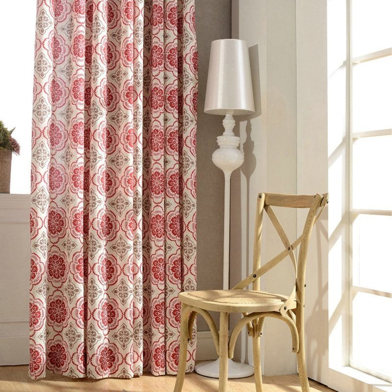 Modern Curtain Designs For Living Room 09